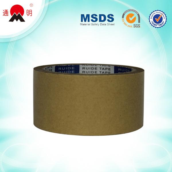 Strong Water Base Adhesive Kraft Paper Tape