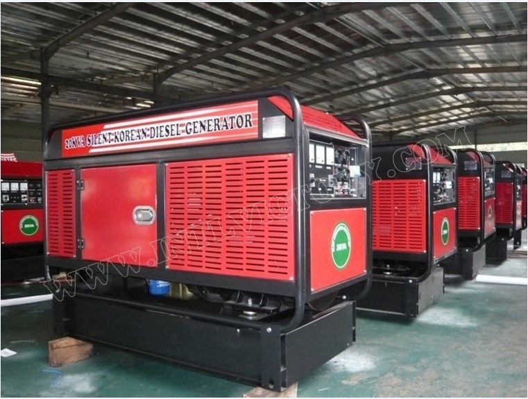 50kVA USA Brand Cummins Engine Driven Generator with ISO Certifications