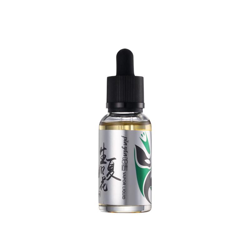 Living as Summer Flower/Mint and Tobacco Flavor/ Electronic Cigarette Liquid/ E Liquid