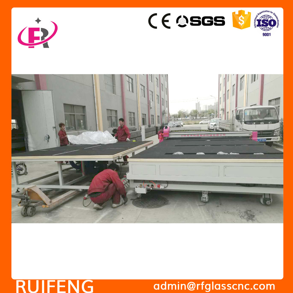 CNC Machine Glass (RF3826CNC) with Breaking Table
