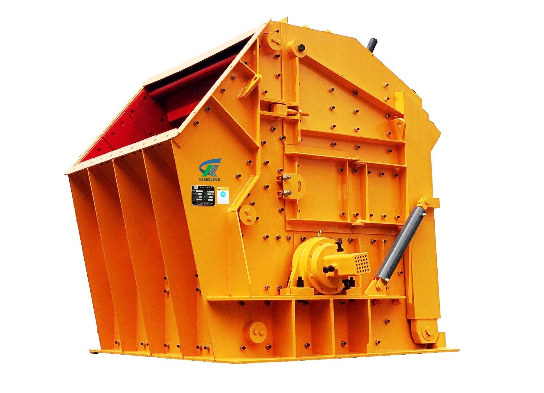 Hydraulic Hazemag Impact Stone Crusher for Limestone Crushing Plant
