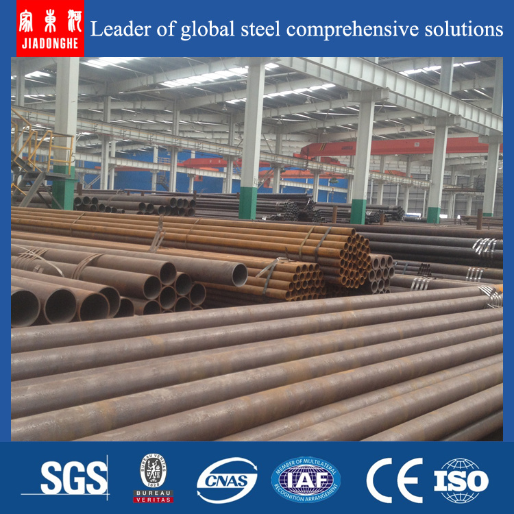 St52 A106gr. B Seamless Steel Pipe Tube in Stock