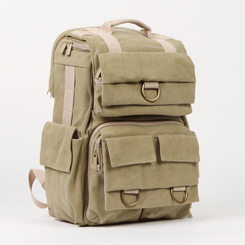 Professional Waterproof Canvas DSLR/Digital Camera Bag