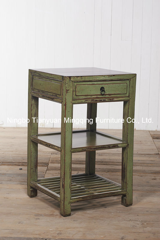 Primitive Simplicity and Elegant Side Table Antique Furniture
