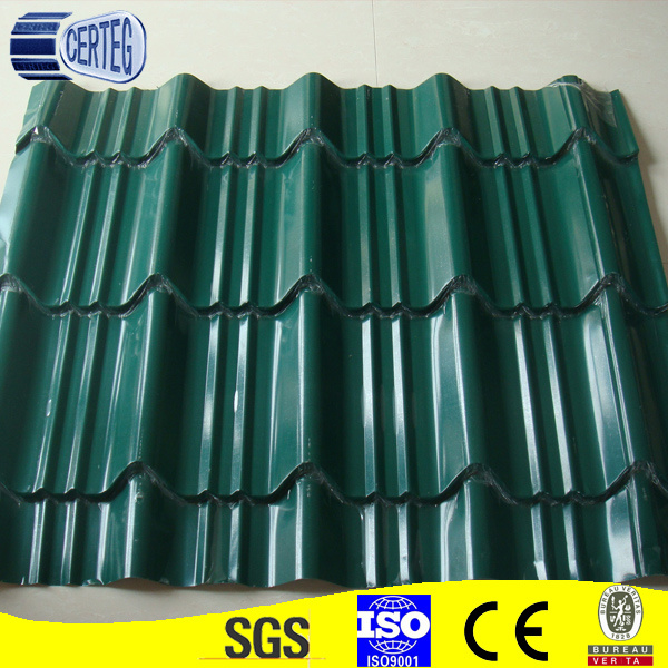 Color Roof Sheet of Green Color (CTGA003)