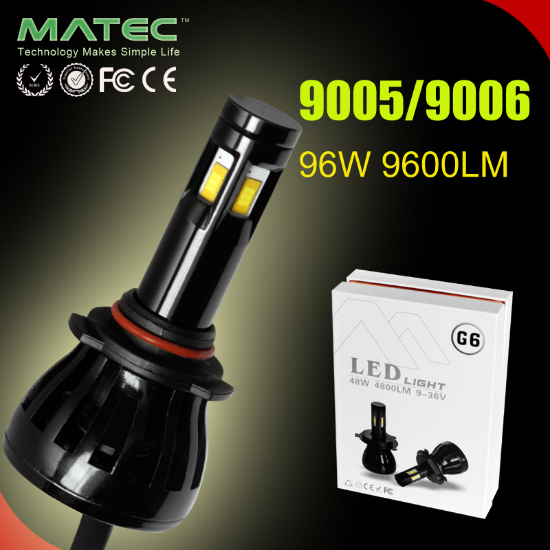 Auto LED Headlight Bulbs H11 12V/24V 9005 9006 for Car/Truck/Bus
