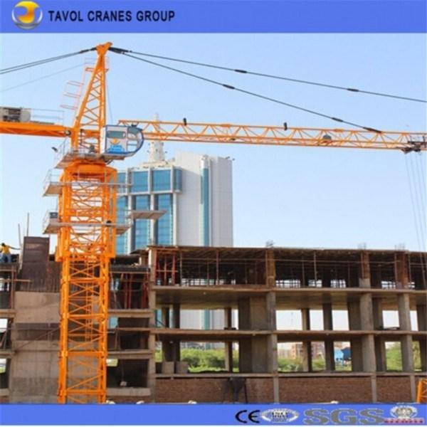 Tower Crane 5t Dubai Tower Crane Used Tower Crane in Dubai Qtz63 (5610)