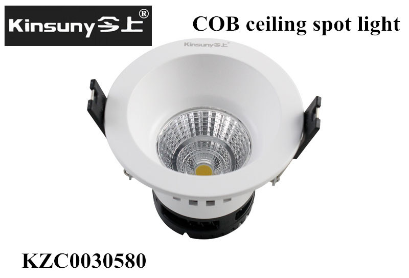 3inch 4W COB LED Spot Light, PC Lamp Body, CRI>80