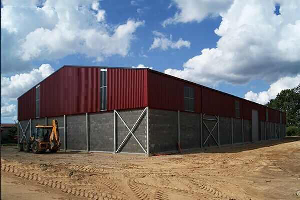 Prefabricated Light H Steel Building