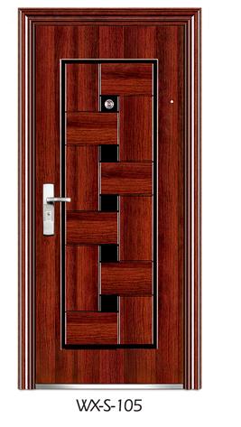 High Quality Steel Security Door (WX-S-105)