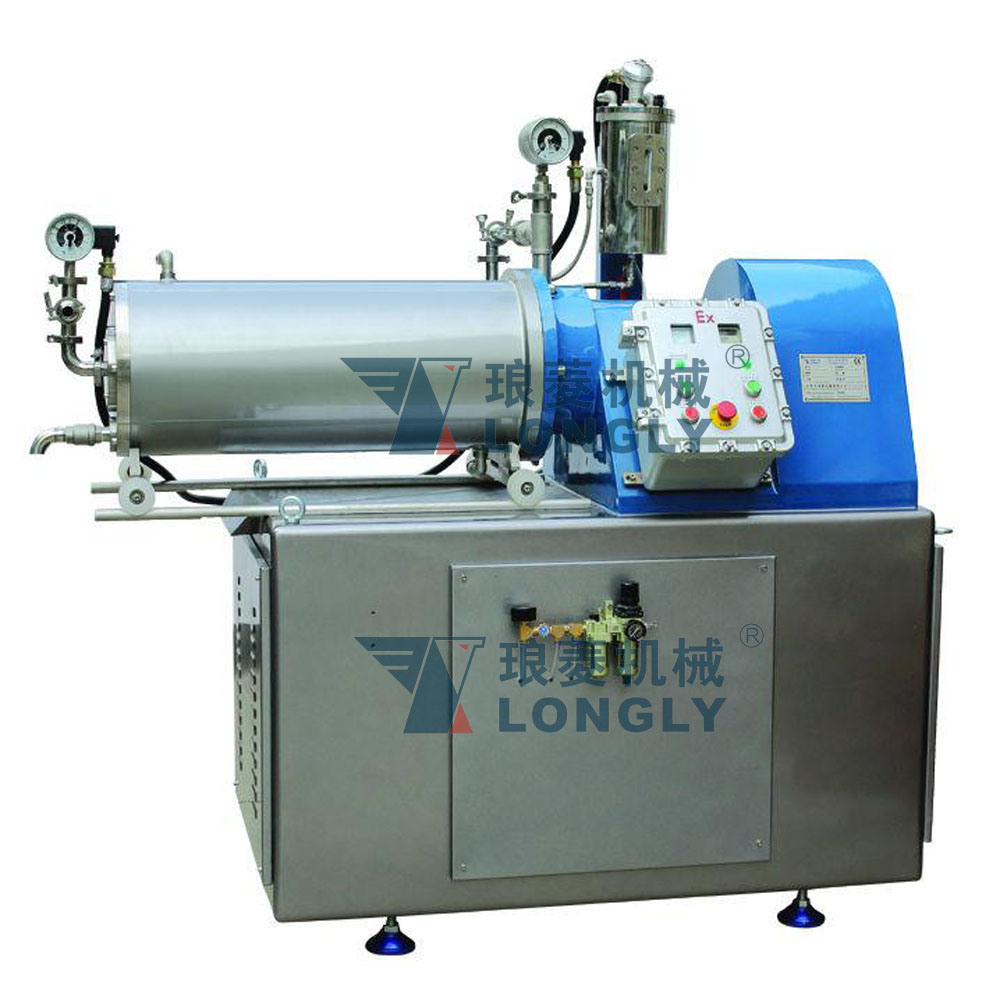 LSM -60B Disk Type Horizontal Bead Mill