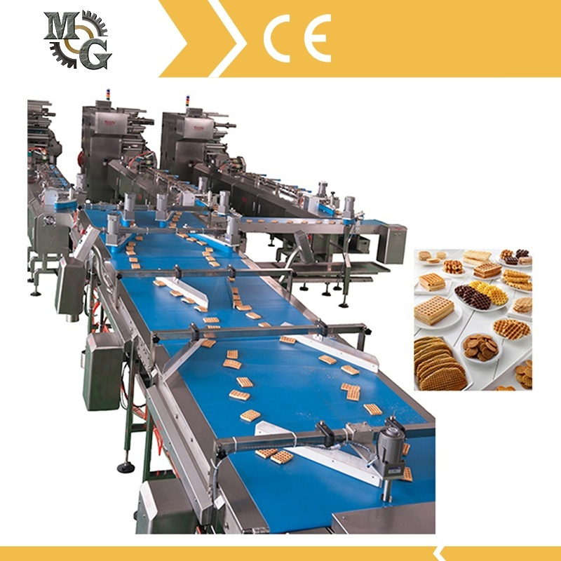 Automatic PLC Control Cookis Distribution Machine