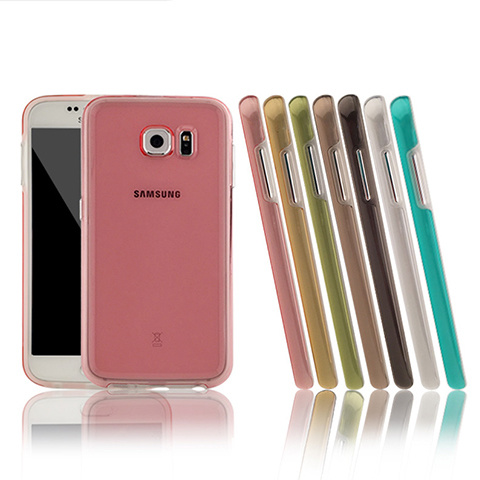 TPU+PC Ultra Slim Armor Mobile Case for Samsung S6
