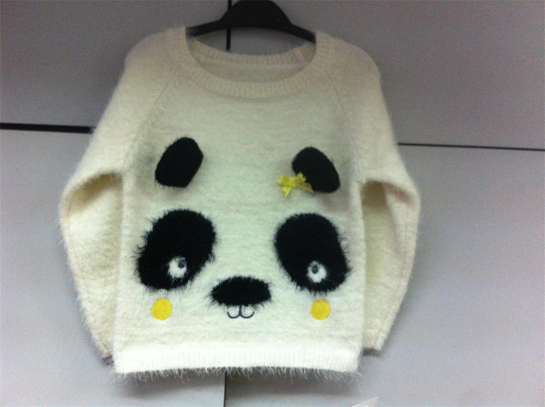Lovely Panda Jumper - Girls Sweater