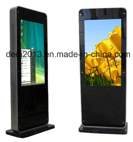 55inch Floor Standing LCD Outdoor Advertising Kiosk