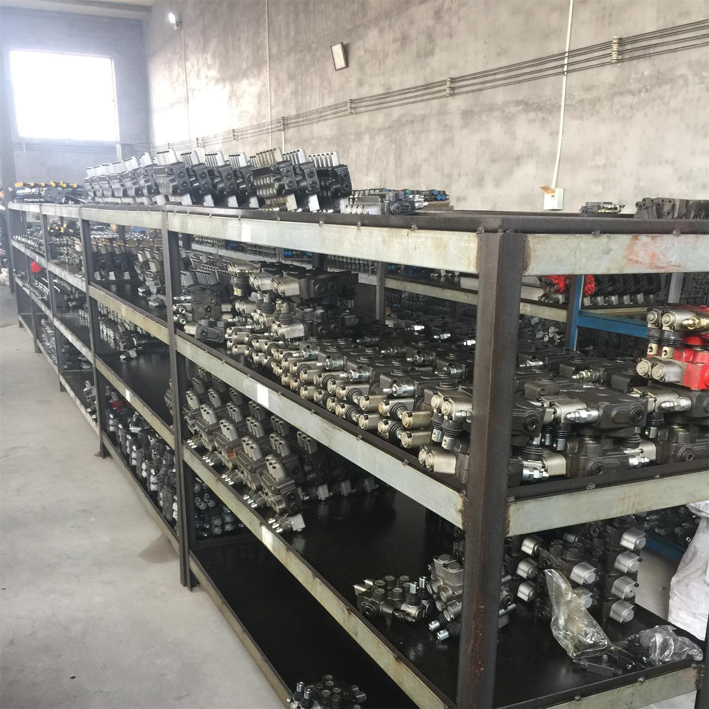 4 Spool Hydraulic Monoblock Directional Control Valve for Crane 50L/min