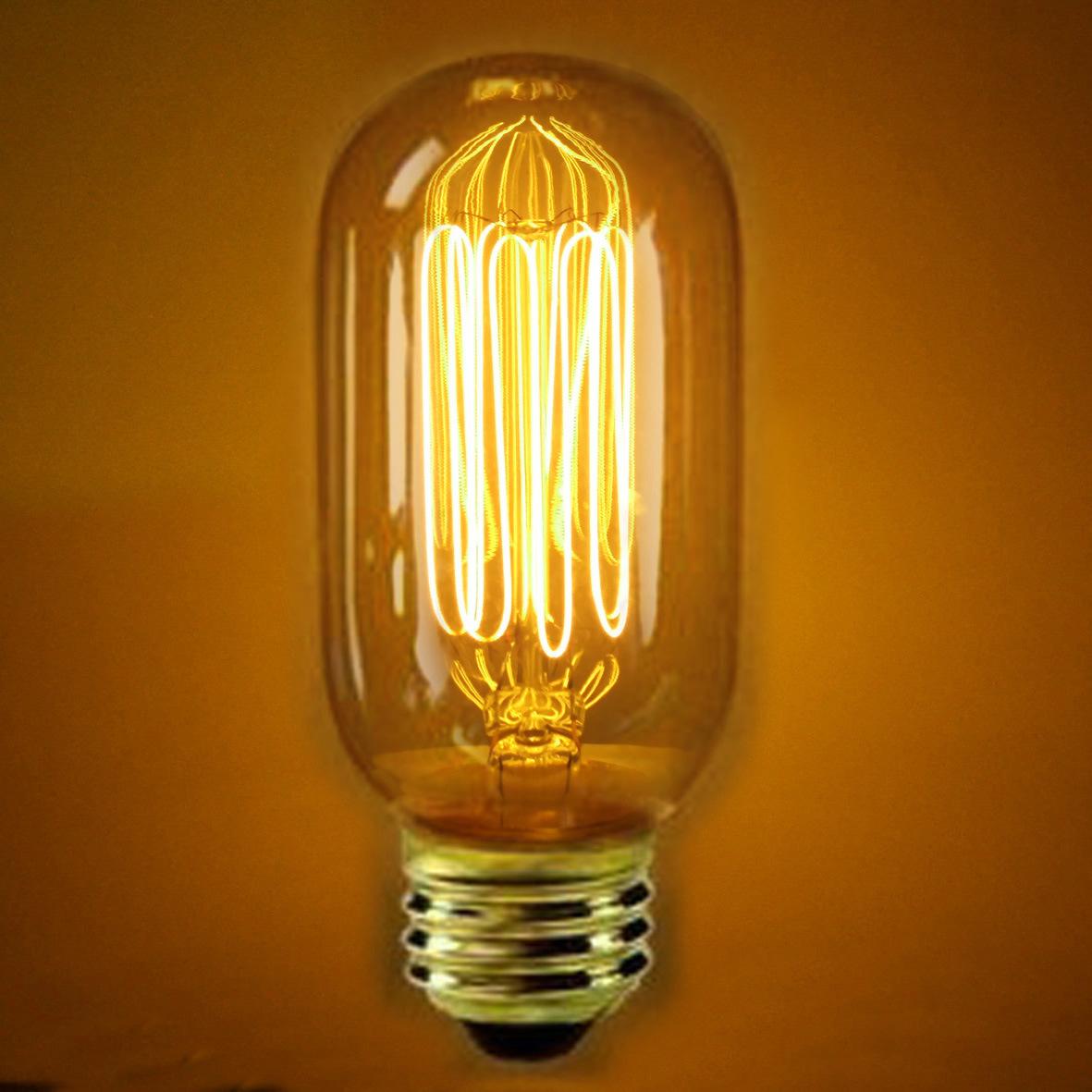 edison bulb vintage light bulb squirrel cage filament old fashioned. Black Bedroom Furniture Sets. Home Design Ideas