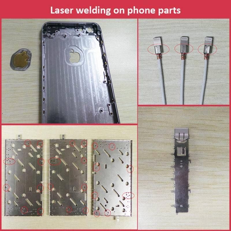 200W 400W Fiber Laser transmission Welding Machine