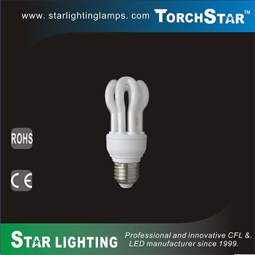 T2 Lotus Shape CFL 11W Energy Saving Lamp for Decoration