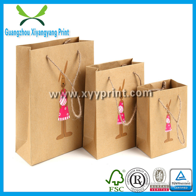 Custom Food Kraft Paper Packaging Bags Wholesale