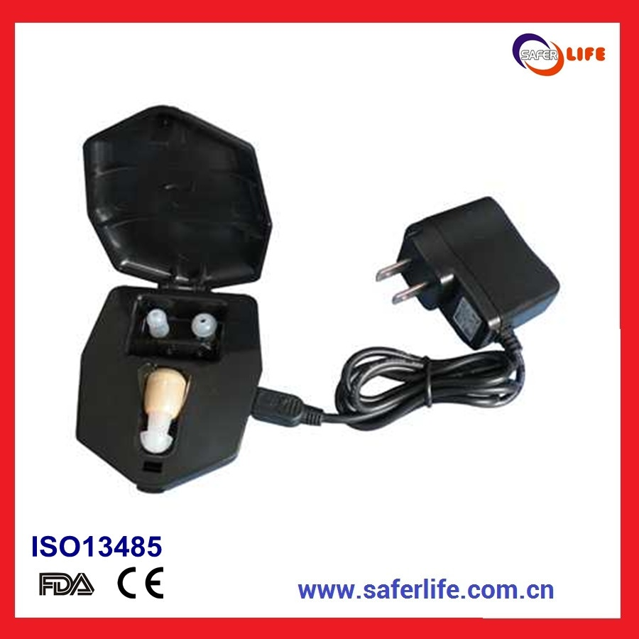 2014 Affordable Proven Quality Internal Mini Personal Sound Rechargeable Ite Hearing Amplifier Ite in The Ear Hearing Aid