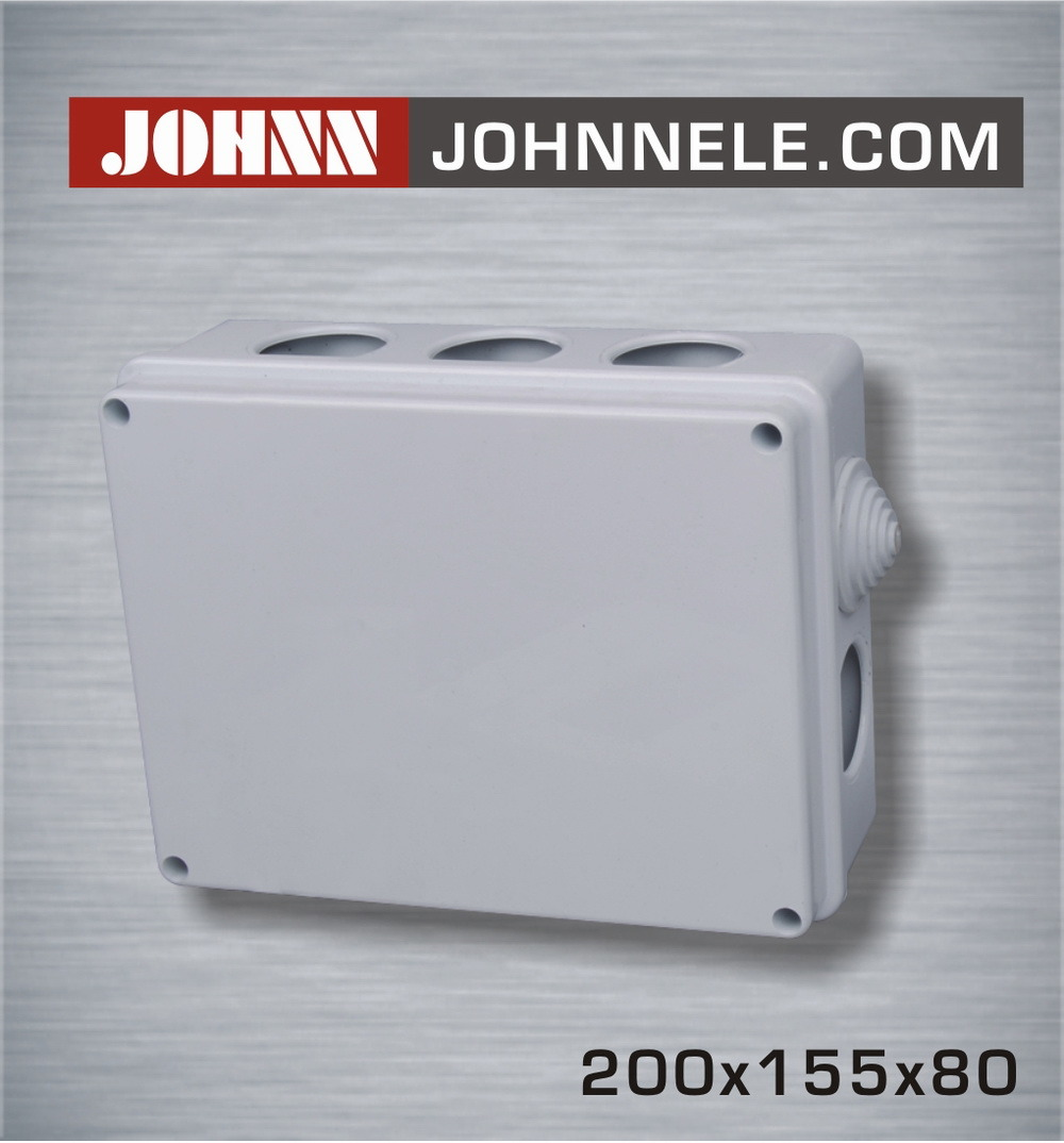 Weatherproof Junction Box Plastic Box PVC Enclosure