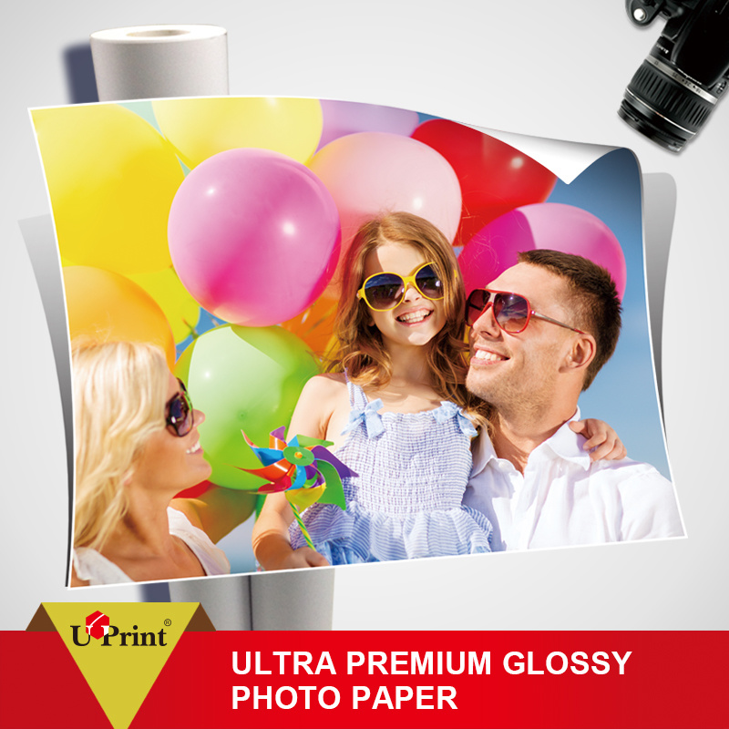 Top Quality Waterproof Printing Roll High Glossy Paper Inkjet Matte Coated Photo Paper