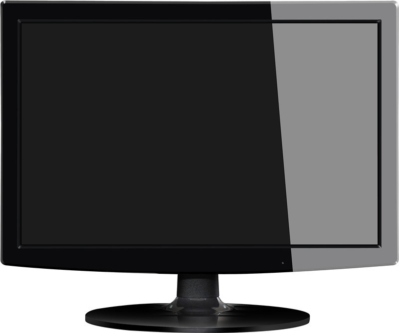 Slim 15.4 Inch LED Monitor with VGA
