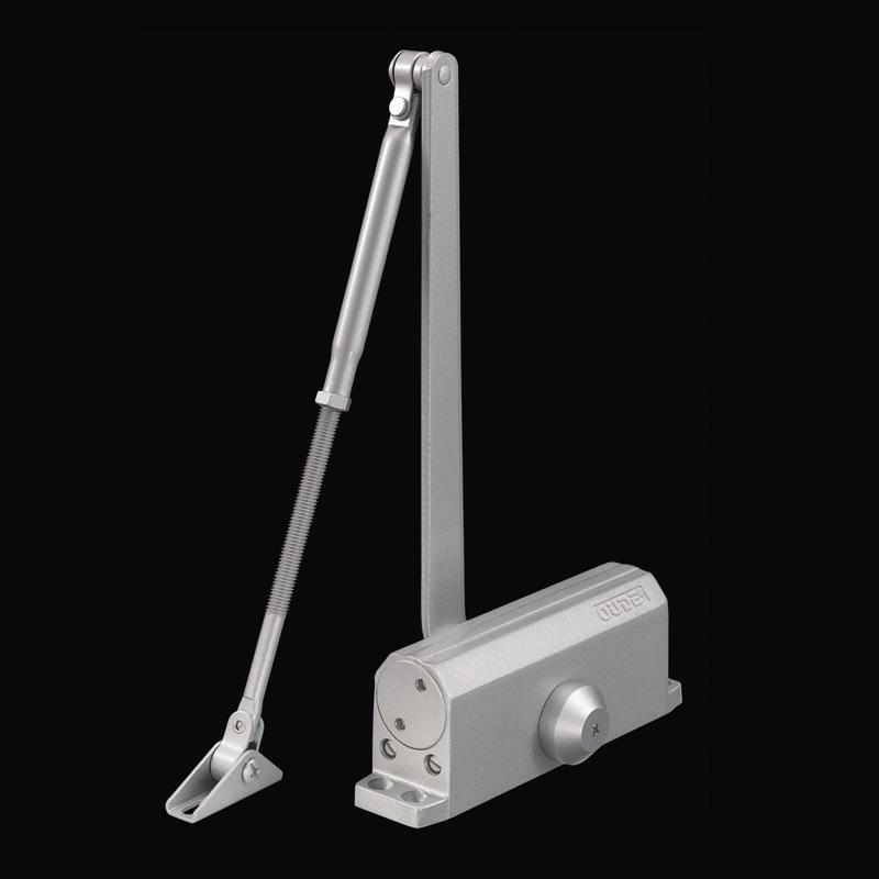 Adjustable Aluminium Fire Proof Door Closer 40-85kg Capacity