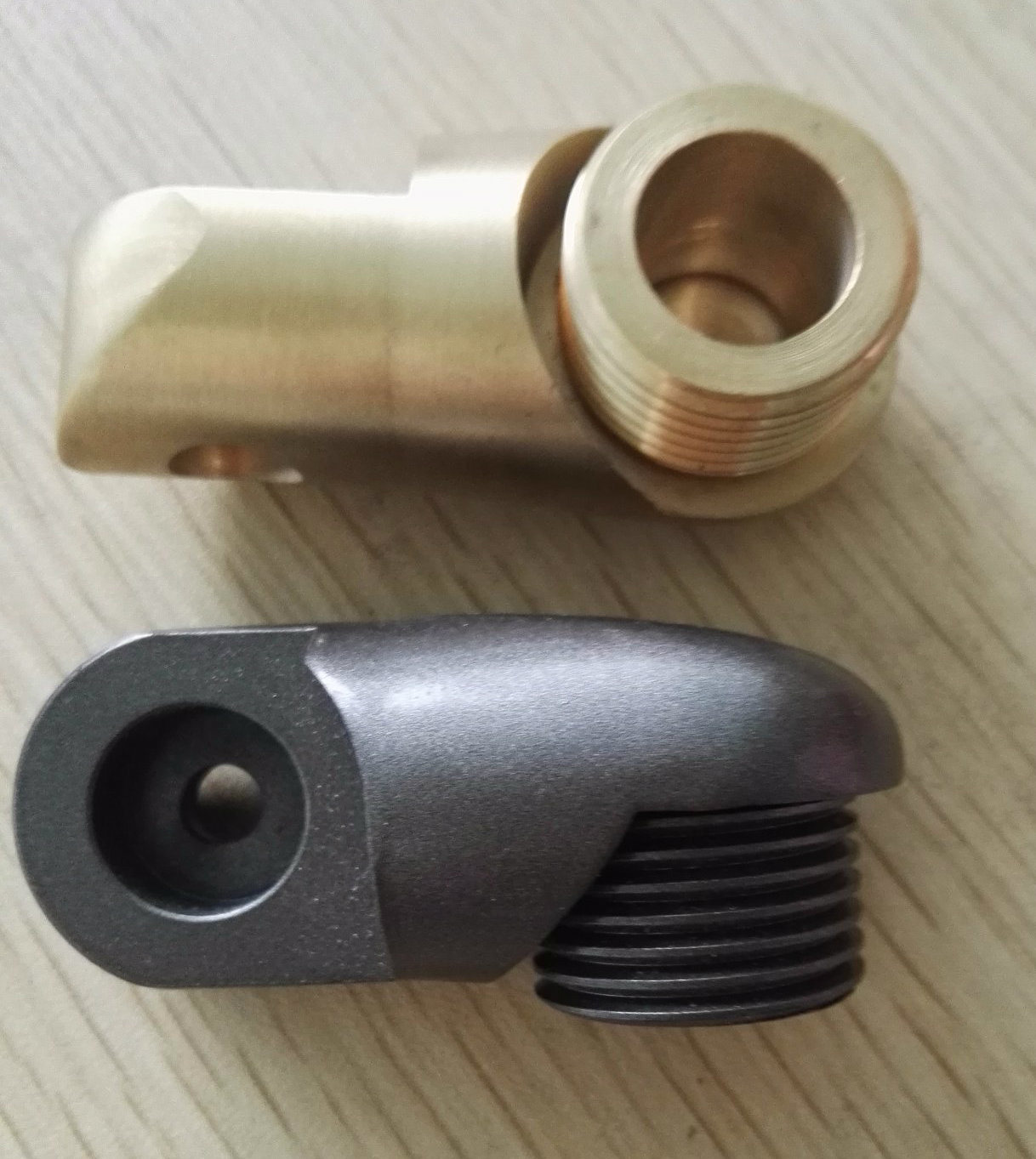 CNC Machining Connector Parts for Garden Light