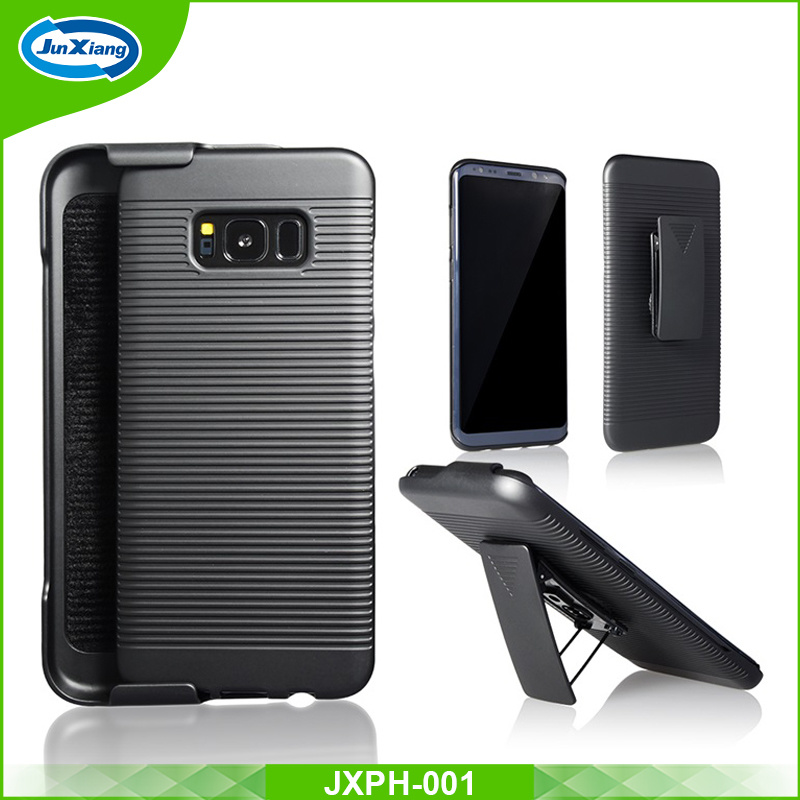 High Quality Combination with Kickistand Belt Clip Holster Combo Case for Samsung S8
