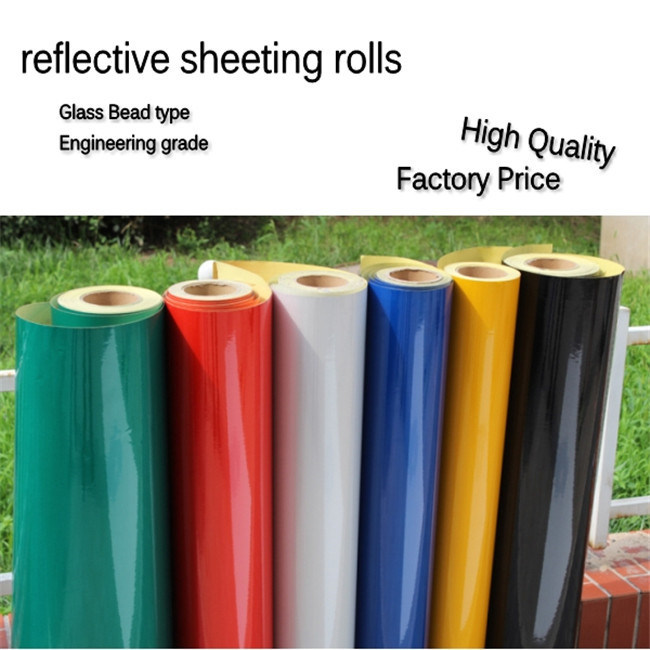 Free Samples Reflective Sheeting Reflective Film for Traffic Sign (C1300-O)
