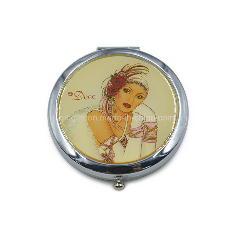 Hot High Quanlity Promotional Custom Metal Makeup Mirror