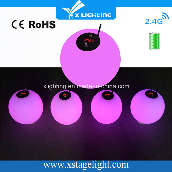 High Quality Wireless Battery DMX LED Kinetic Light Use for Wedding Party