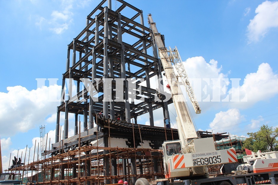 Steel Structural Projects/Steel Building/Steel tower