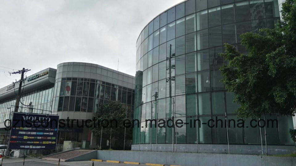 Glass Curtain Wall Aluminum Curtain Wall for Africa