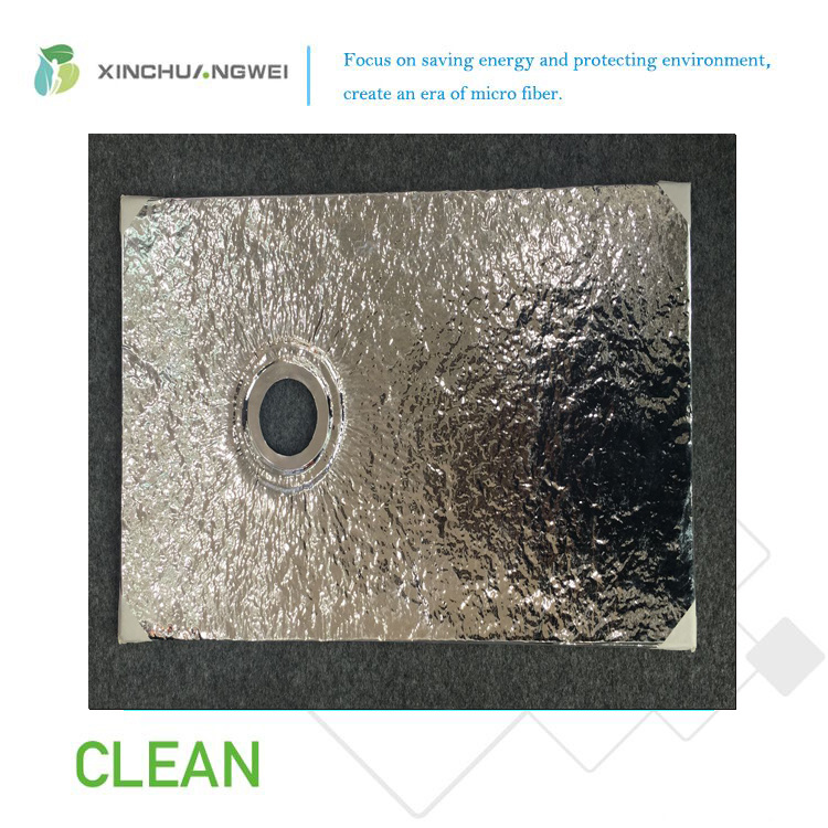 Aluminum Foil Fiberglass Vacuum Insulation Panel for Building Project
