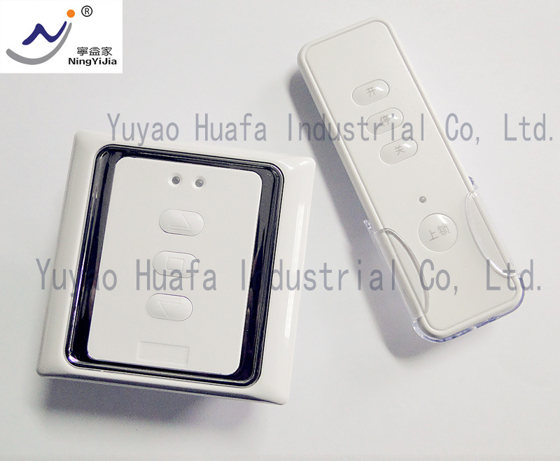 AC110/24VDC, Wall Switch and Remote Control for Window Opener