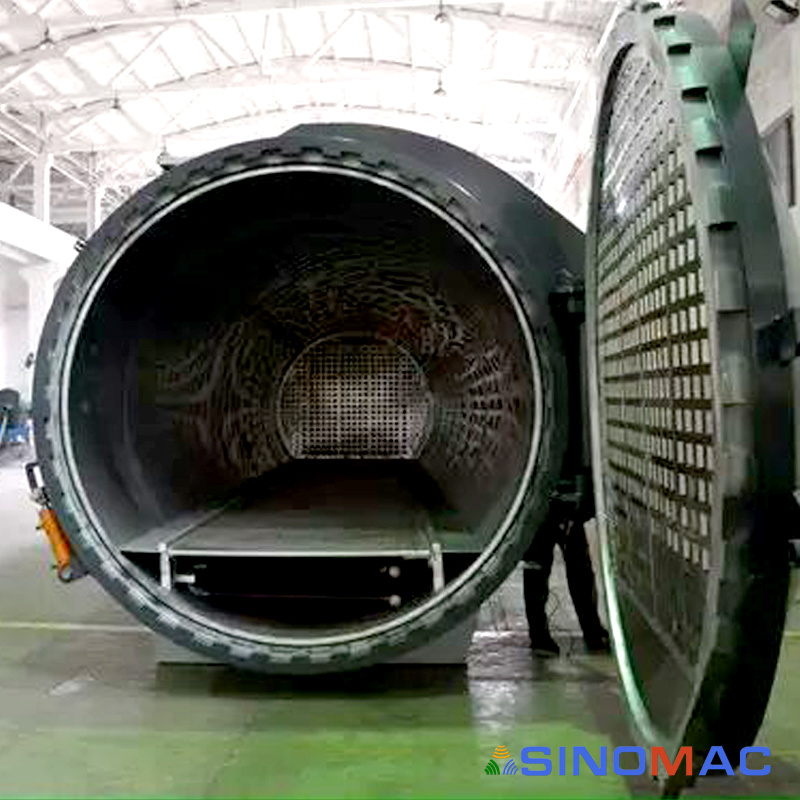 2800X8000mm Electric Heating Autoclave for Curing Composite (SN-CGF2880)