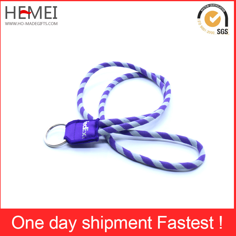 High Quality Custom Braided Knitting Lanyards