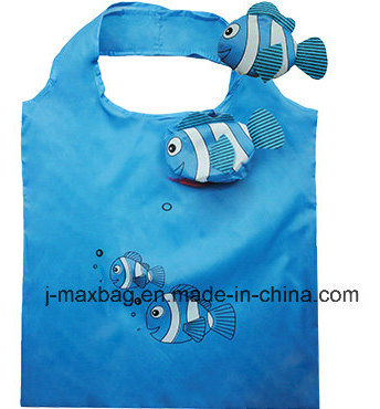 Foldable Gifts Shopper Bag with 3D Pouch, Animal Cow Style, Reusable, Lightweight, Grocery Bags and Handy, Promotion, Accessories & Decoration