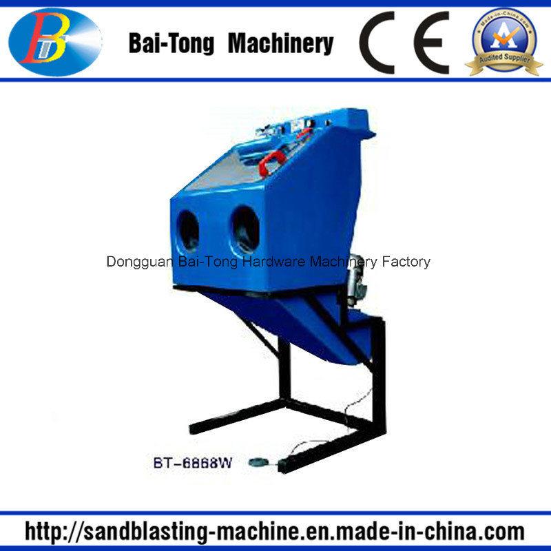 Manual Wet Sand Blasting/Sandblasting Machine (6868W)