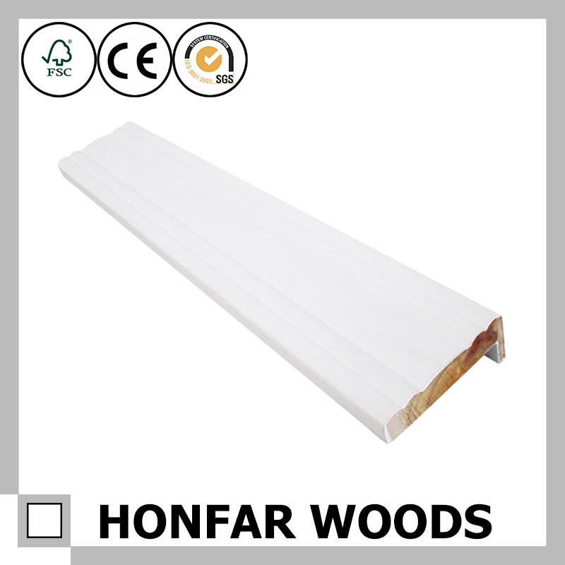 White Primer Wood Door Frame Window Frame