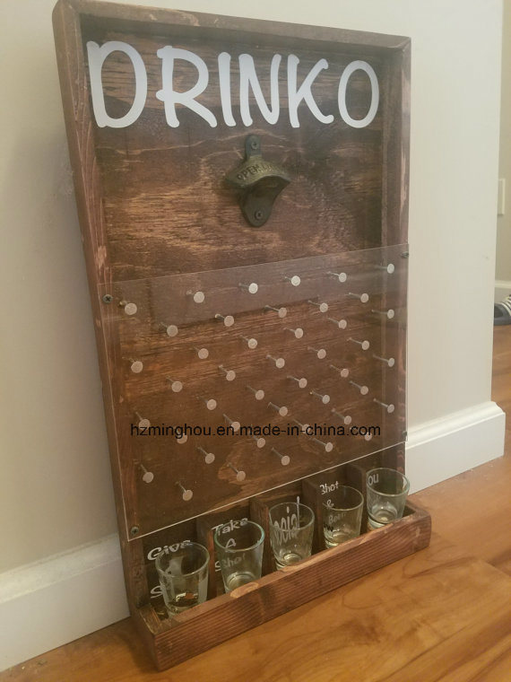 Custom Drinko Plinko Bottle Opener Game Rack From Minghou