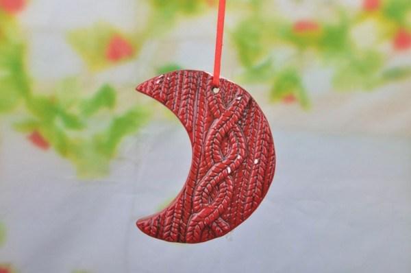 Provincial Christmas Santa Angel Ornaments Ceramic Technique Sheets U Pick