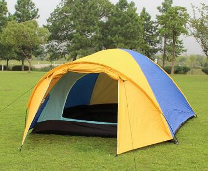 Outdoor Tent 4person Higking Mountain Camping Outdoor Double Rainproof Tent