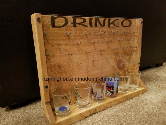 Custom Drinko Plinko Bottle Opener Game Rack From Minghou