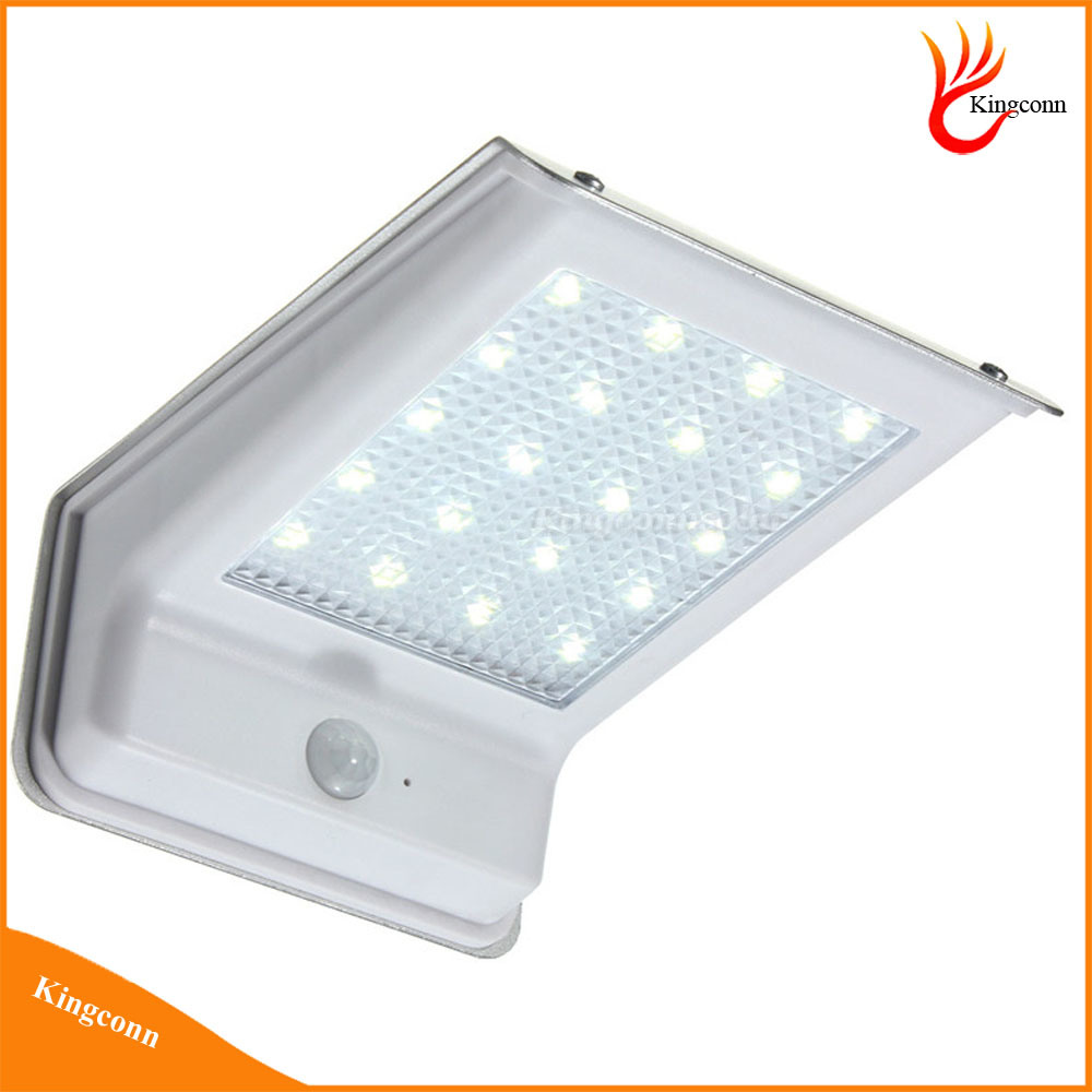 Rechangable Battery 20 LED PIR Motion Sensor Solar Light Outdoor Security Wall Light LED Outdoor Light