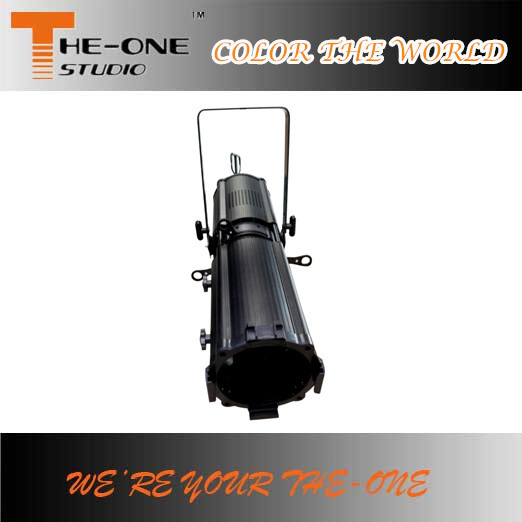 200W Zoom Profile Gobo Projector LED Stage Lighting
