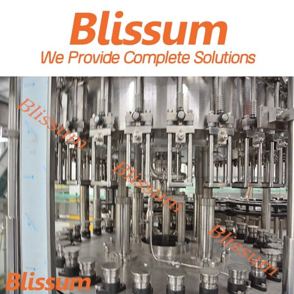 Full Automatic Carbonated Drink Bottle Rinsing Filling Capping Machine